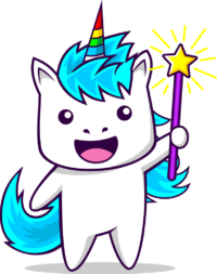 Unicorn Wednesday Mascot