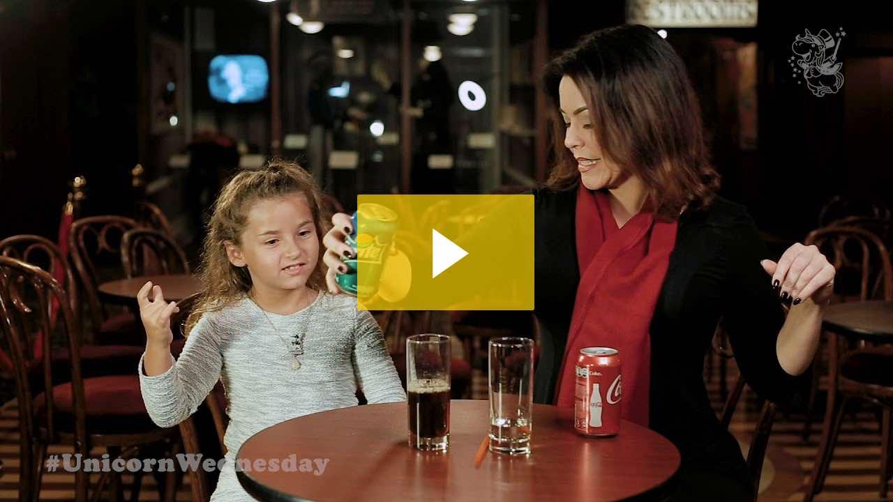 Unicorn Wednesday Week 38 - Soda with Jelly!