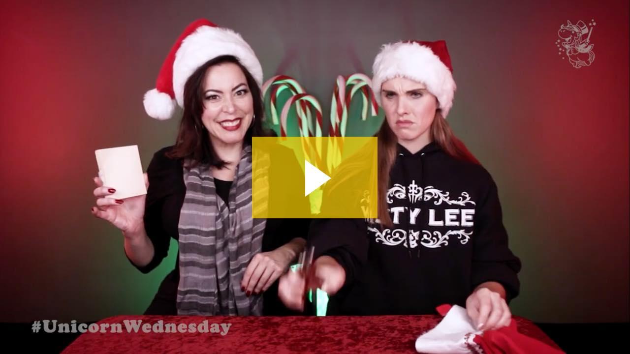 Unicorn Wednesday Week 89 - Christmas Punch with Lennon